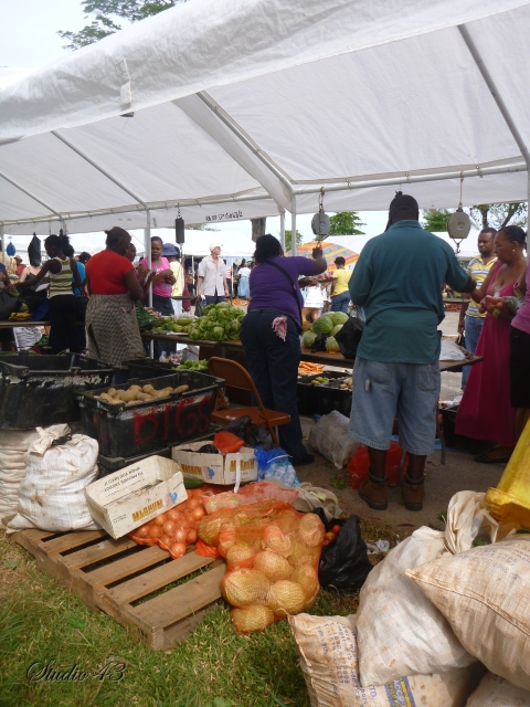 Farmers Market in Negril
