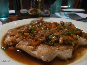 Brown Stew Fish