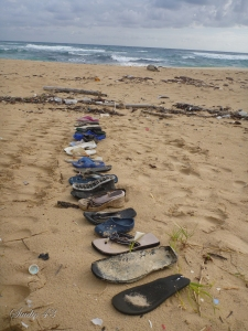 Washed up shoes
