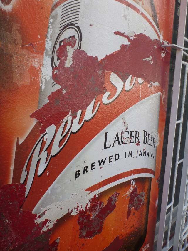 Red Stripe Wall Art